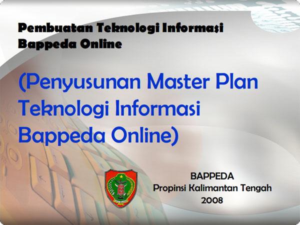 Masterplan Teknologi Informasi