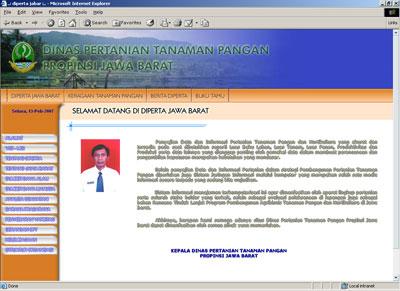 Redesign Website Diperta