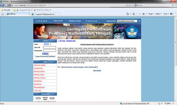 Portal Jaringan Pendidikan Terintegrasi