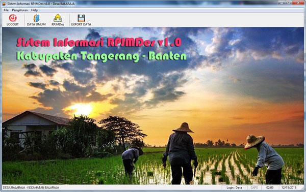 Aplikasi Pelaporan RPJM Desa
