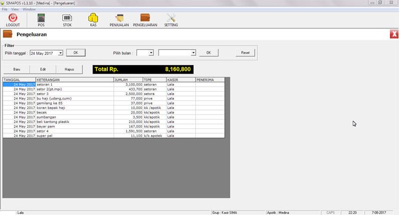 POS (Point of Sales) Apotik