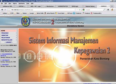 Sistem Informasi Manajemen Sumber Daya Manusia